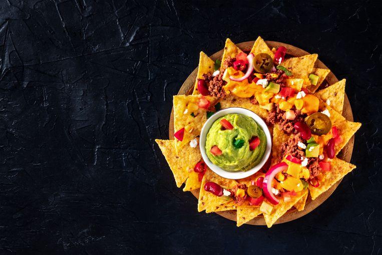 Een bord nachos. Beeld Getty Images/iStockphoto
