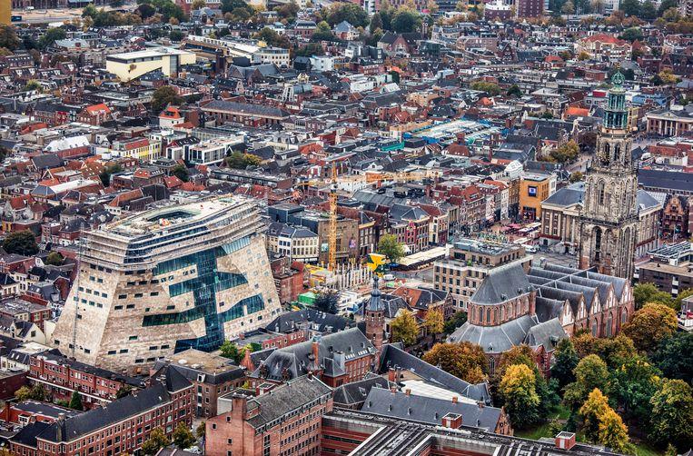 De binnenstad van Groningen.  Beeld Raymond Rutting / de Volkskrant
