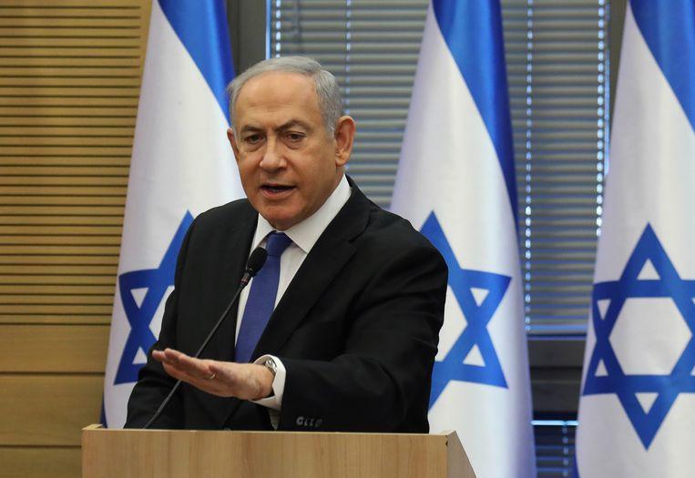 Benjamin Netanyahu. Beeld AFP