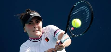 Tiener Andreescu ontsnapt aan aftocht in Miami