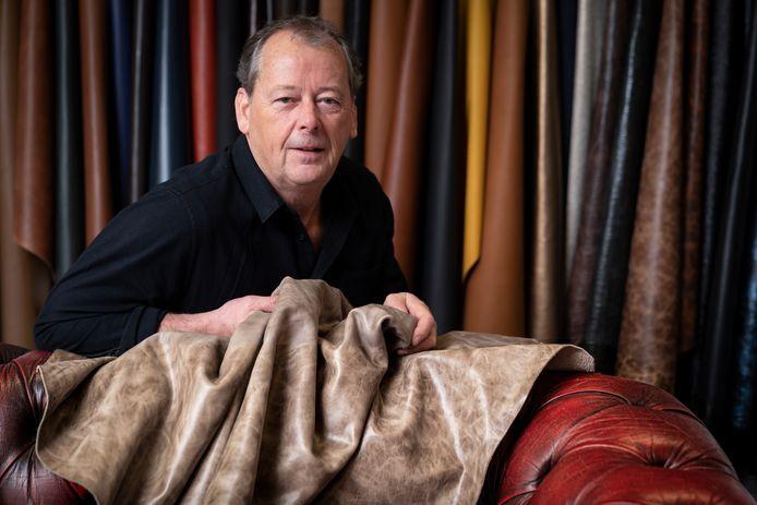 Joost Boons was precies een jaar geleden de eerste coronapatiënt van Nederland. Hij heeft een bedrijf in lederwaren.