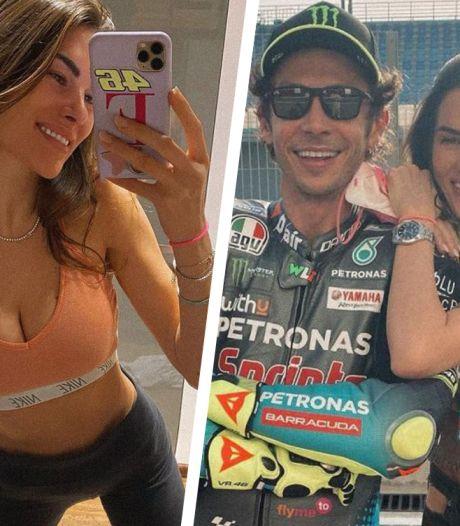 Vriendin Rossi over werken in MotoGP: 'Niet makkelijk met mannen die naar je kont kijken of aanraken'