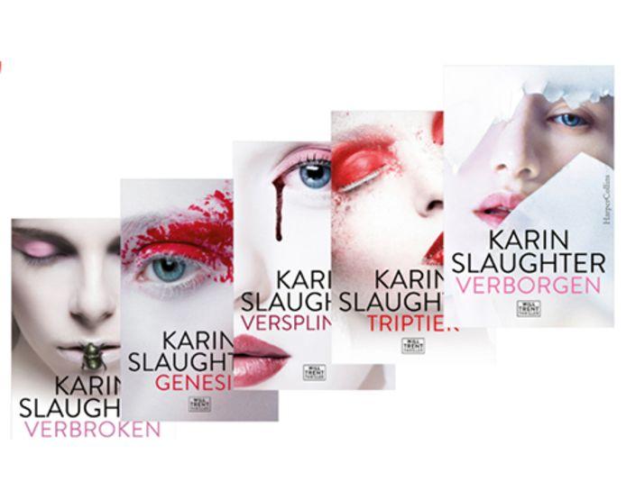 Karin Slaughter boekenpakket