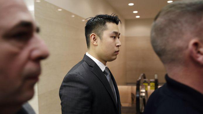 Politieagent Peter Liang pleitte onschuldig.