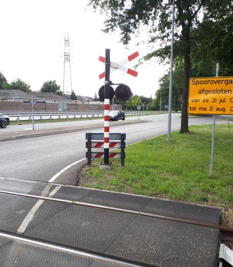 Geen treinen dit weekeinde in Oss door werk aan spoor, vier overwegen dicht