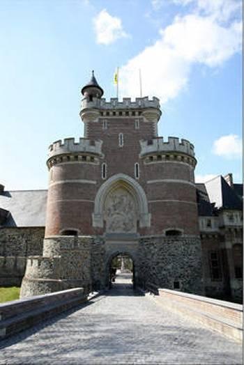 Le château de Gaasbeek.