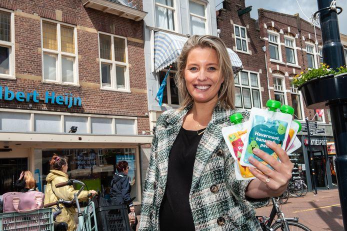 Ondernemer Mariëlle Smit heeft een droomstart met haar gezonde babyvoeding Mama-deli. Haar producten zijn ook al te koop bij Albert Heijn.