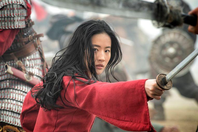 Yifei Liu speelt de hoofdrol in Mulan. Beeld AP