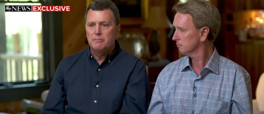 De ooms van Paul, Randolph (links) en John Murdaugh, stonden deze week het ABC-programma Good Morning America te woord.