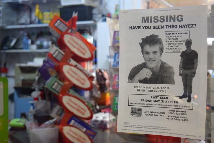 Avis de recherche dans un magasin de Byron Bay (archives).