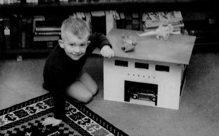 De kleine Jan, vernoemd naar zijn oma's Jannetje en Janne, was een makkelijk kind, tot de puberteit aanbrak. Beeld Privécollectie