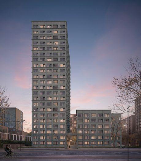 Sociale huurwoningen op 70 meter hoogte, ontwerp Talent Square II nadert voltooiing