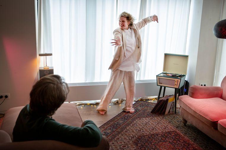 Marieke Giebels in AGod that Can Dance. Beeld Pauline Niks