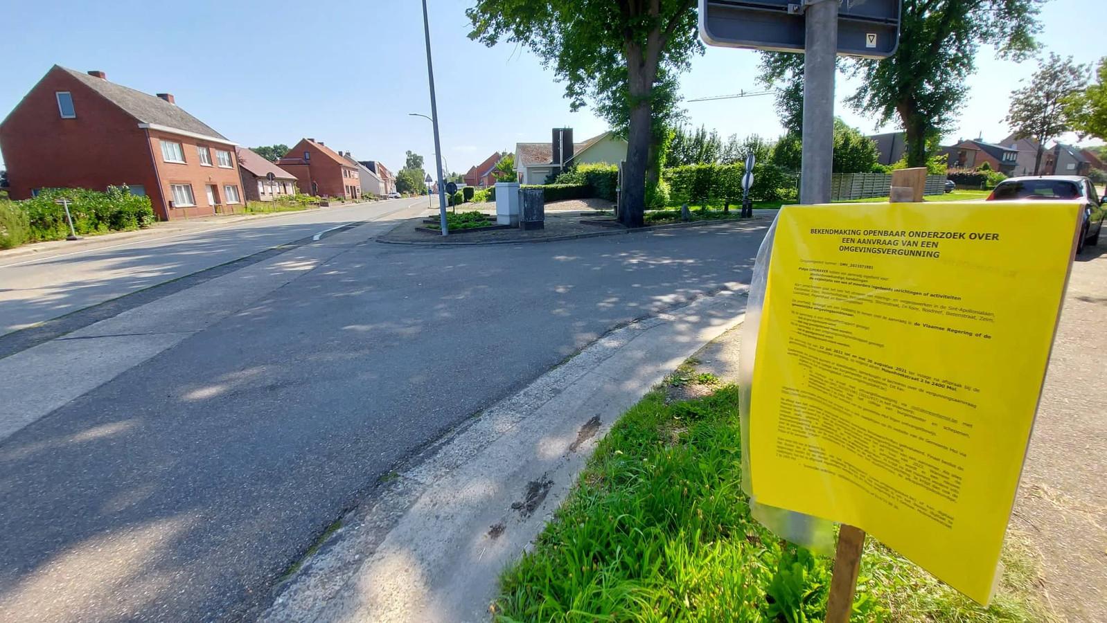 De gemeente Mol heeft een vergunningsaanvraag ingediend bij de Vlaamse overheid voor de grondige heraanleg van de Sint-Apollonialaan. Ook bovenstaand kruispunt met de Achterbos zal een ware metamorfose ondergaan.