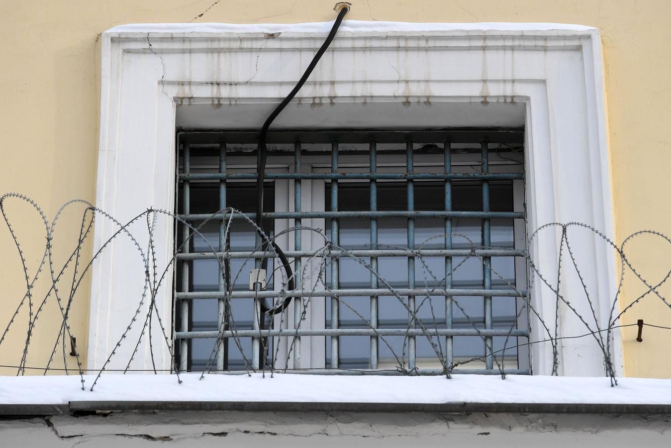 Une photo prise le 19 janvier 2021 montre le centre pénitentiaire numéro 1 de Moscou, connu sous le nom de Matrosskaya Tishina.