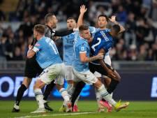 Internazionale lijdt eerste nederlaag, Dumfries woedend na tweede goal Lazio