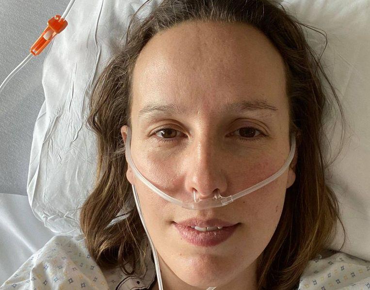 Louise Claeys-Bouuaert (37) uit Ieper  Beeld RV