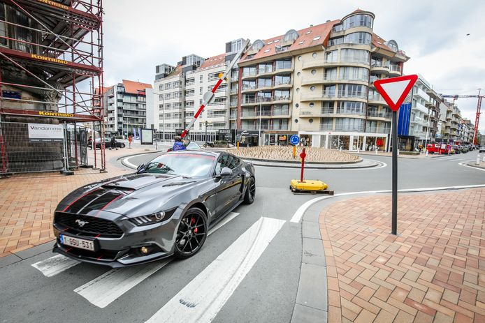 Nieuwpoort drivers days: Ford Mustang