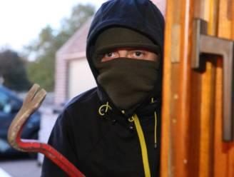 Inbrekers beschadigen voordeur