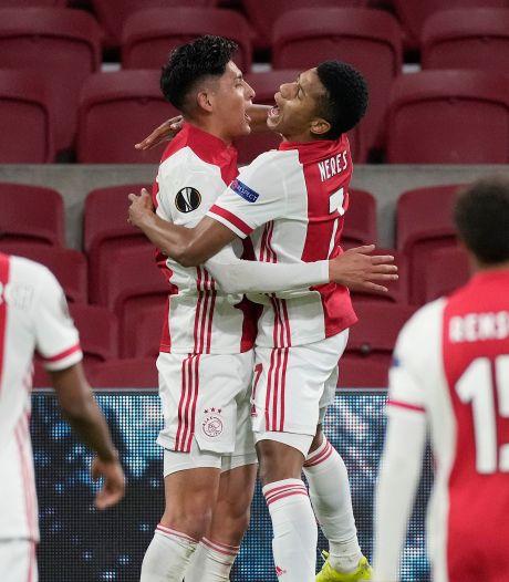 Ajax wint zonder groots te spelen van Lille en bekert verder