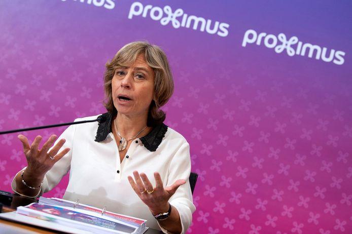 Dominique Leroy, présidente du groupe Proximus