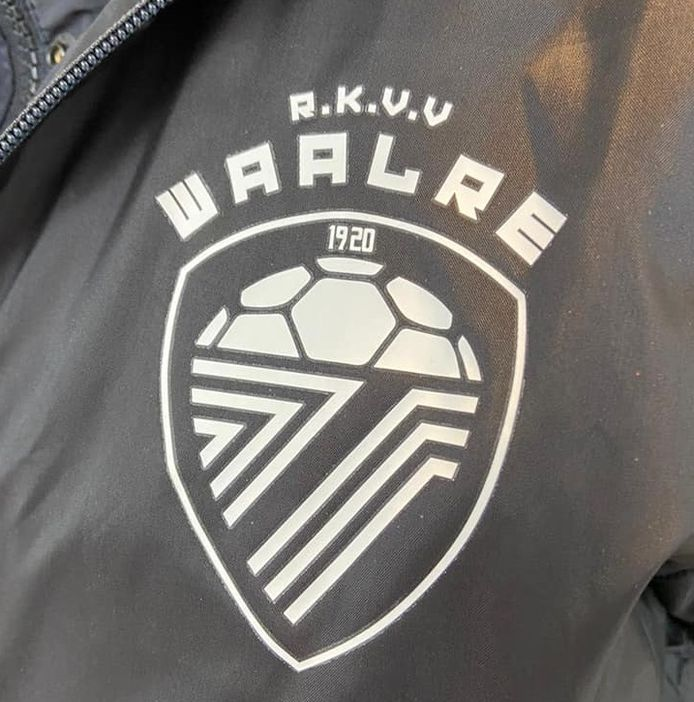 Het nieuwe clublogo van RKVV Waalre
