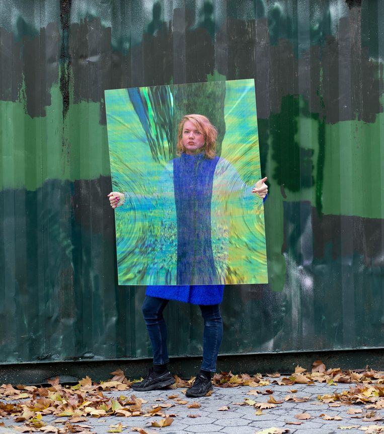 Anouk Kruithof maakt driedimensionale fotowerken. Beeld Annie Collinge