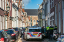 Politie doet onderzoek in Kampen.