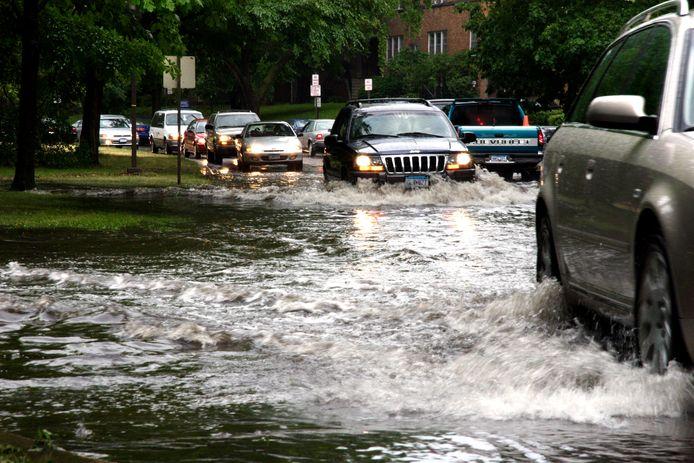 Autoverzekering komt tussenbeide bij waterschade