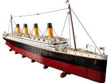 630 euro voor legodoos: Titanic is met 9090 blokjes grootste bouwset ooit