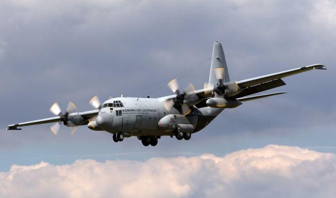 Een C130-Hercules.