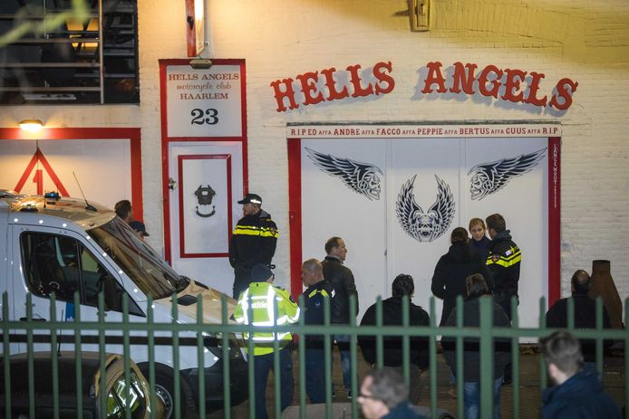 Begin dit jaar deed de politie een inval in het clubhuis van motorclub Hells Angels in Haarlem