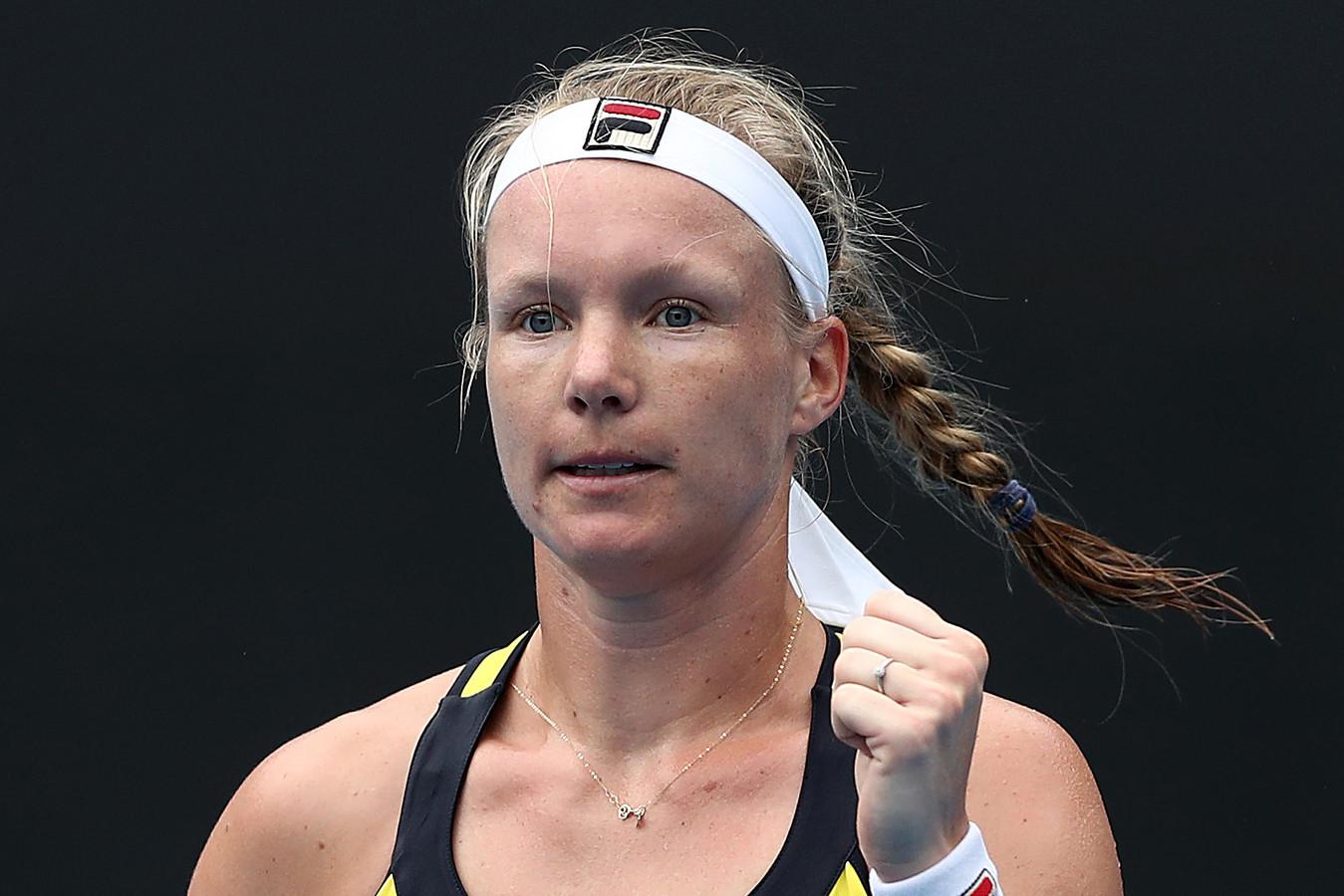 Kiki Bertens is vol vertrouwen voor de Australian Open. ,,Ik moet ervoor gaan, het is mogelijk.''