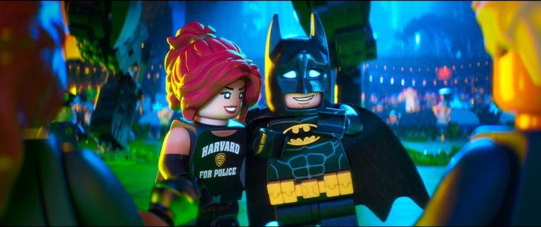 Ook Lego-figuurtjes kunnen de karakters van Barbara Gorden en Batman nieuw leven inblazen. Beeld Photo News