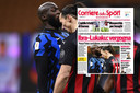 Corriere dello Sport over incident Lukaku-Ibrahimovic.