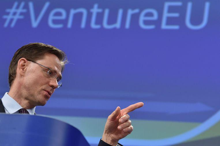 Vice-president van de Europese Commissie Jyrki Katainen. Beeld REUTERS