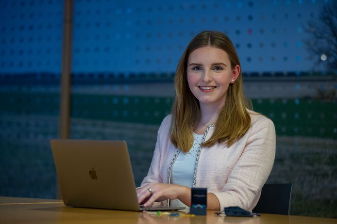 Suzan de Jongste, ondernemer uit Dronten, is 21 jaar en runt nu al drie bedrijven.