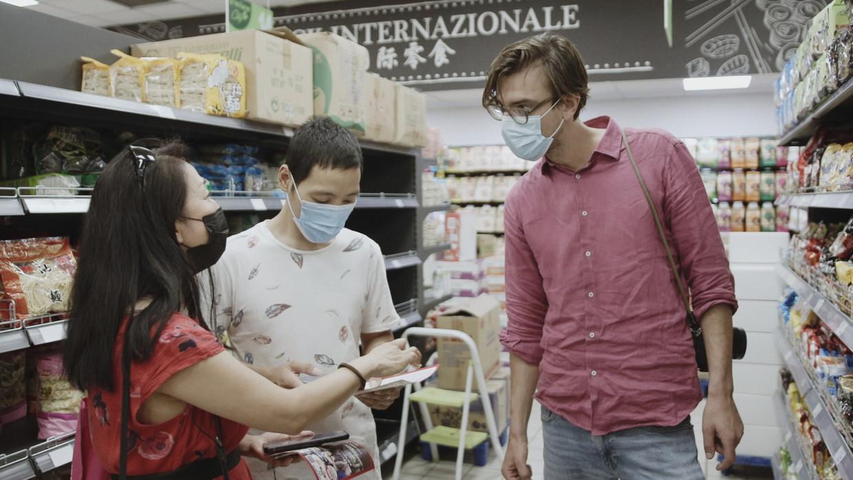 De wereld van de Chinezen, Ruben Terlou in Italië Beeld VPRO