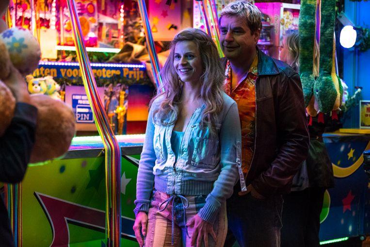 Elise Schaap en Frank Lammers in 'Ferry'. Beeld