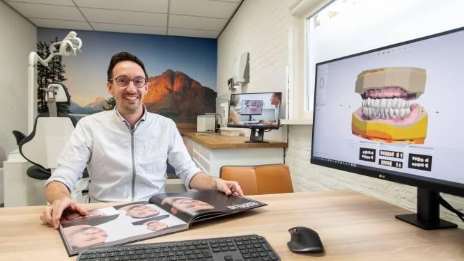 Jörn Varwijk (38) uit Losser innovatief met Smilemakerz: 'Van eigen tanden naar klikgebit in één behandeling'