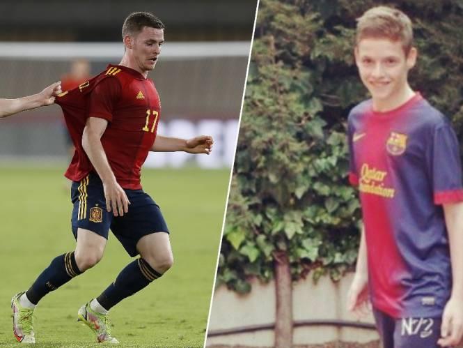 """Spanje ligt aan de voeten van Anderlecht-speler Sergio Gómez: """"Als vijfjarige maakte hij jongens van wel zes jaar ouder belachelijk"""""""