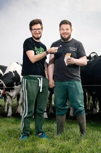 """Mathieu (31) nam het melkveebedrijf met 120 koeien over van zijn ouders: """"80 uur werken voor 1.300 euro loon, maar het is een passie"""""""