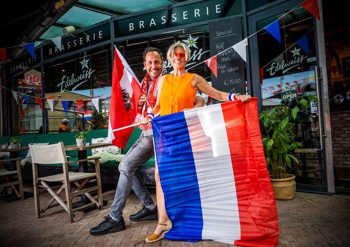 Arno Ganahl en Brigitte Huygen met een Oostenrijkse brasserie in Berkel en Rodenrijs, kijken uit naar Nederland - Oostenrijk.