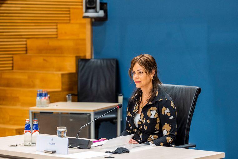 Sandra Palmen-Schlangen, vaktechnisch coördinator Toeslagen in 2016 en 2017, werd twee jaar geleden als enige gewone ambtenaar verhoord door de parlementaire ondervragingscommissie Kinderopvangtoeslag. Aanleiding was haar explosieve memo. Beeld Jeroen van der Meyde/RVD
