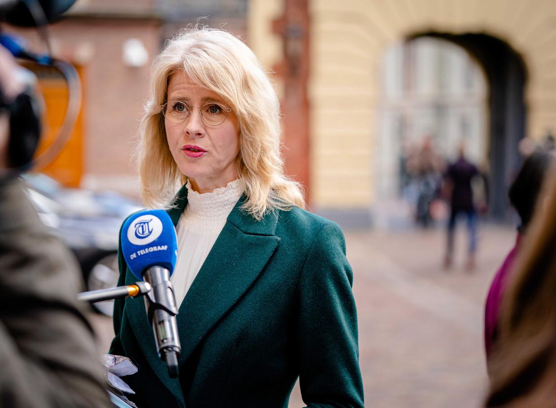 Demissionair staatssecretaris Mona Keijzer (Economische Zaken).  Beeld EPA