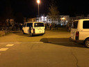 De politie kwam ter plaatse, maar alles bleef overwegend rustig.