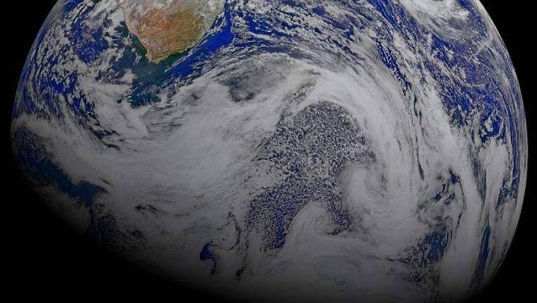 De aarde, gezien vanuit de ruimte. Beeld NASA/AP