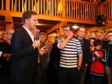 Mark Rutte verdedigt stikstofbeleid voor zaal met 400 mensen in Deurne