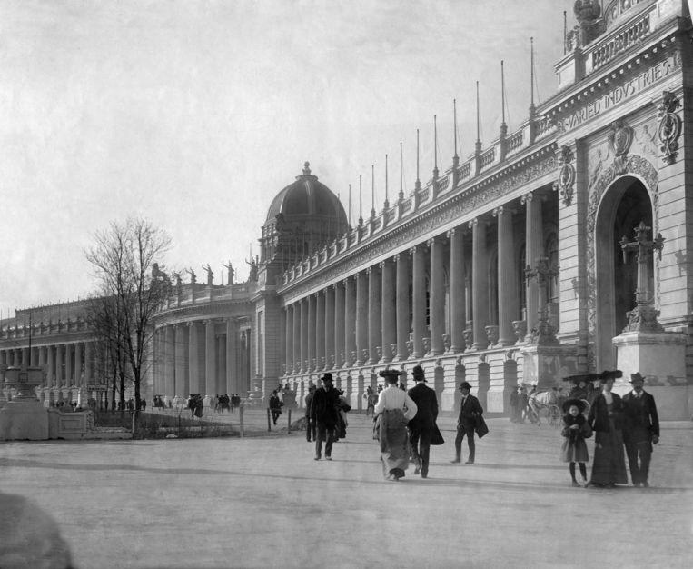 De Wereldtentoonstelling in St. Louis in 1904. Beeld ullstein bild via Getty Images