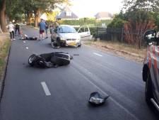 Dronken Arnhemse scooterrijder (24) botst in Wijchen en raakt rijbewijs kwijt